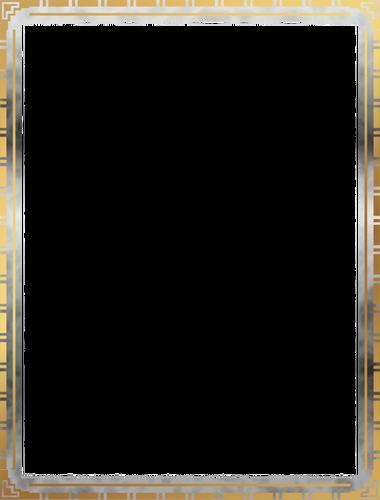 Clipart cadre décoratif simple.