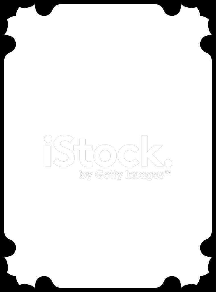Illustration Vectorielle Cadre Simple Stock Vector.