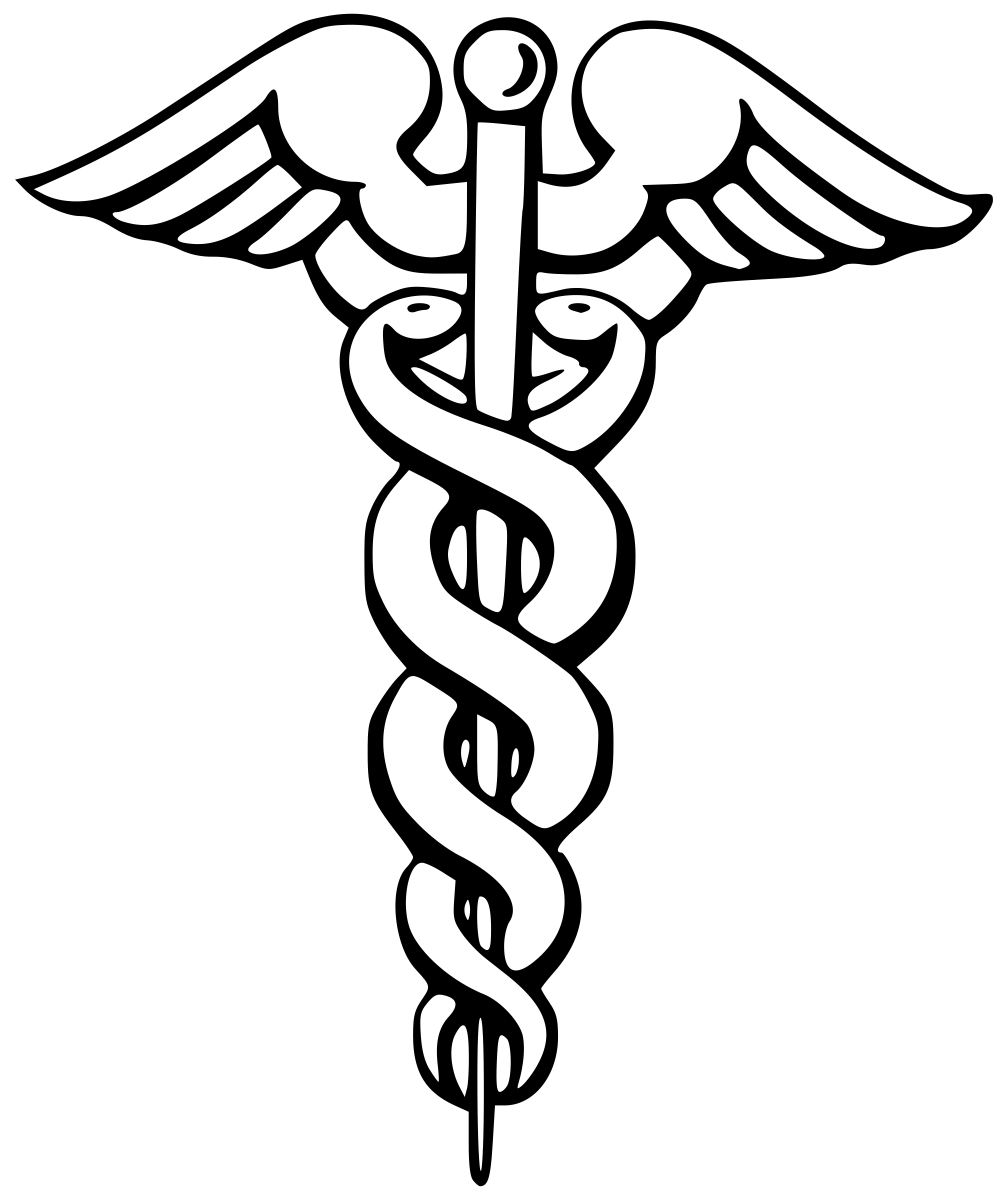 Caduceus Clipart Free Download Clip Art.
