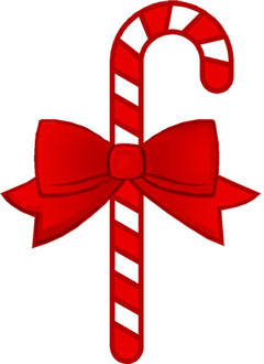 Candy canes clipart #5