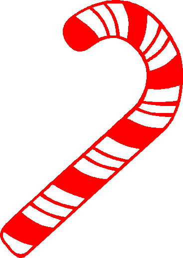 Candyland Candy Canes Clipart.