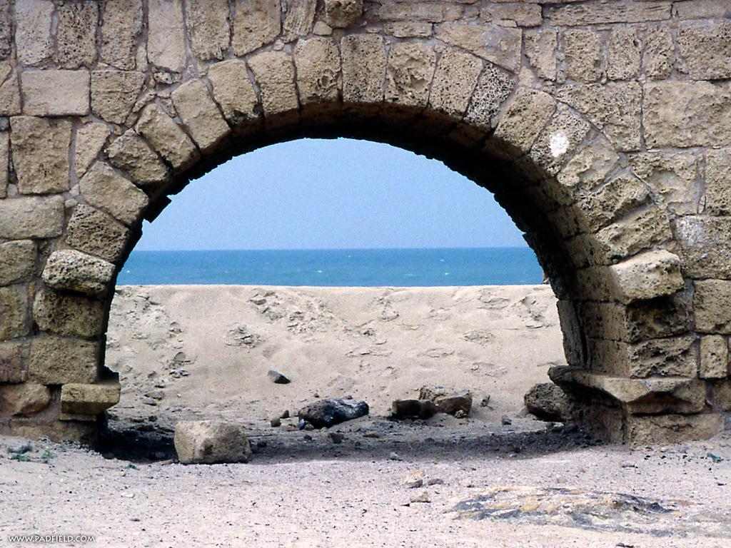 Caesarea Maritima, Israel Photographs.