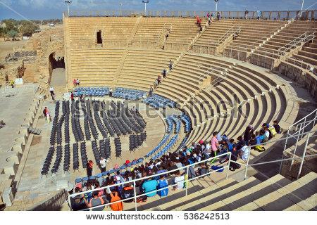 Caesarea Stock Photos, Royalty.