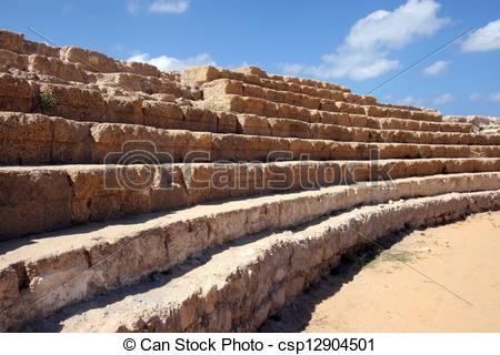 Stock Photography of Caesarea, Israel.