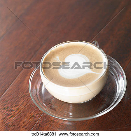 Stock Photography of inside, beverage, drink, coffee, cafe au lait.