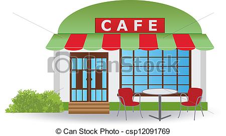Cafe clipart.