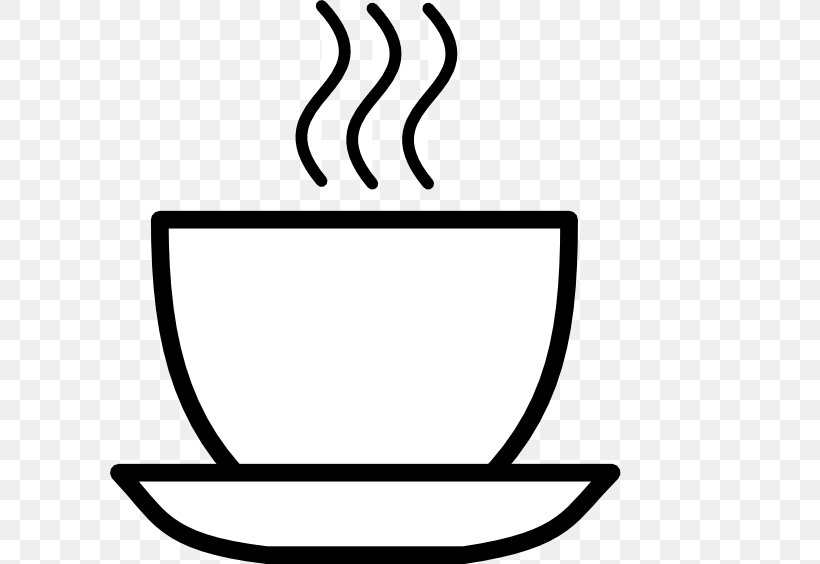 White Coffee Tea Cafe Clip Art, PNG, 600x564px, Coffee.
