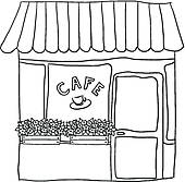 Free Restaurant Clipart Black And White, Download Free Clip.