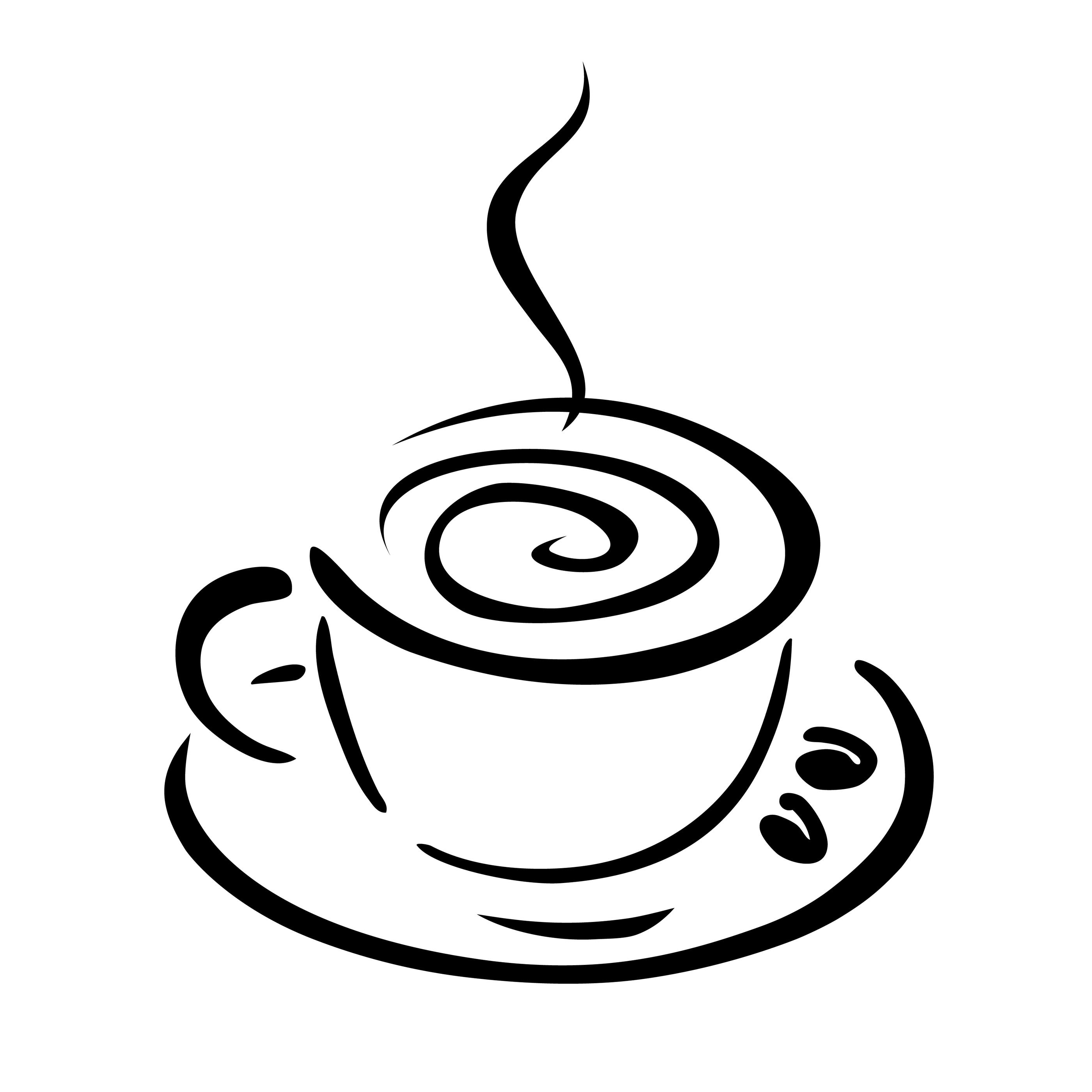 Free Cafe Clipart Black And White, Download Free Clip Art.