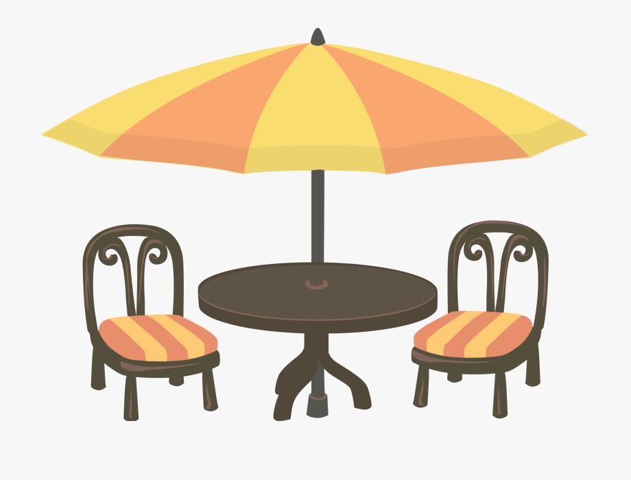 Orange Table Cliparts.