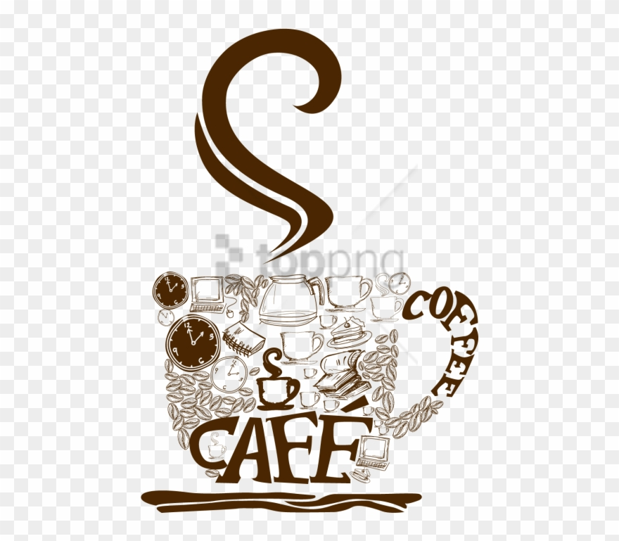 Free Png Cup Coffee Vector Png Image With Transparent.
