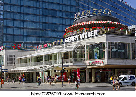 "Stock Photograph of ""Cafe Kranzler on Kurfuerstendamm."