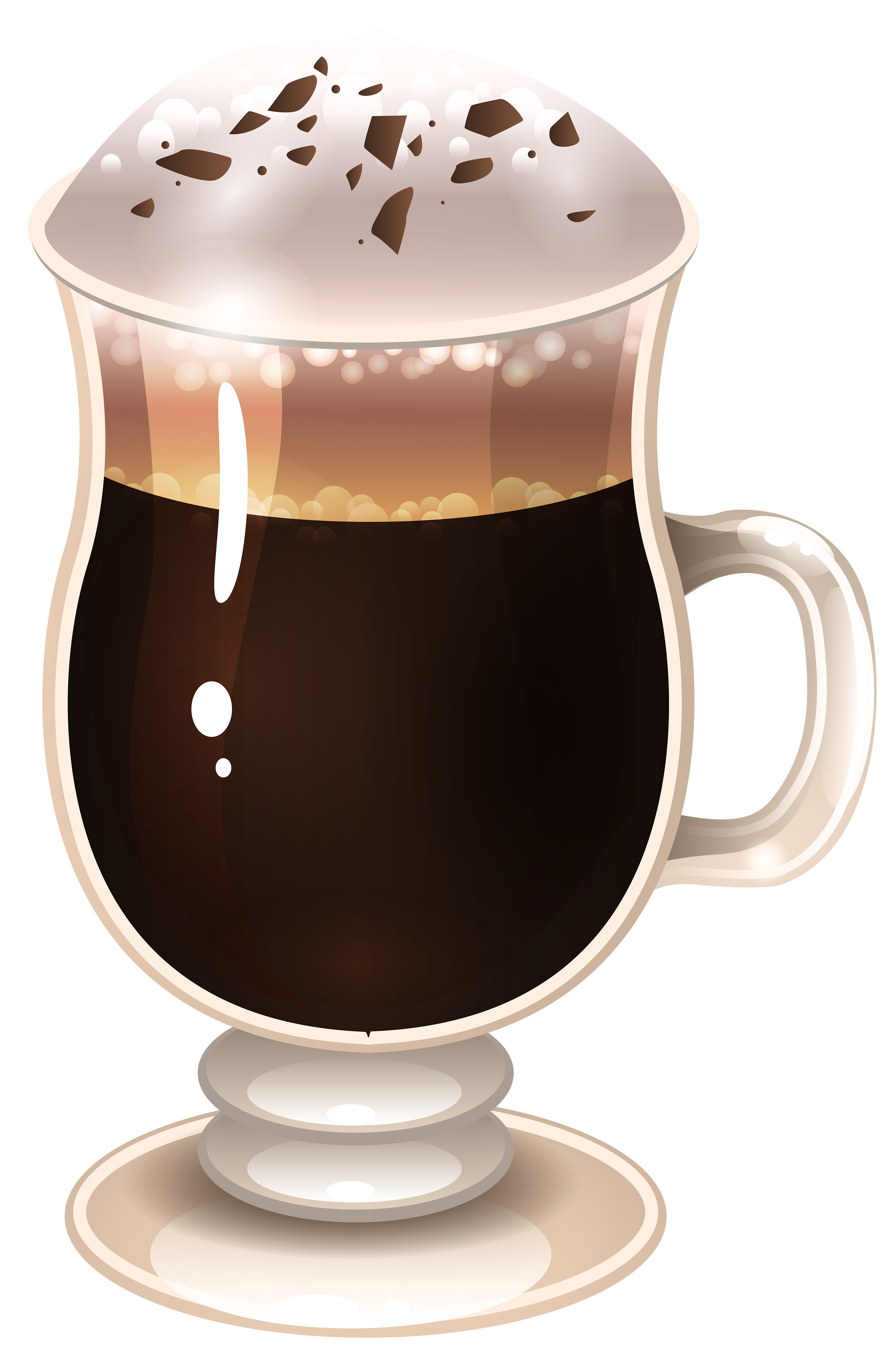 Cafe latte clipart - Clipground