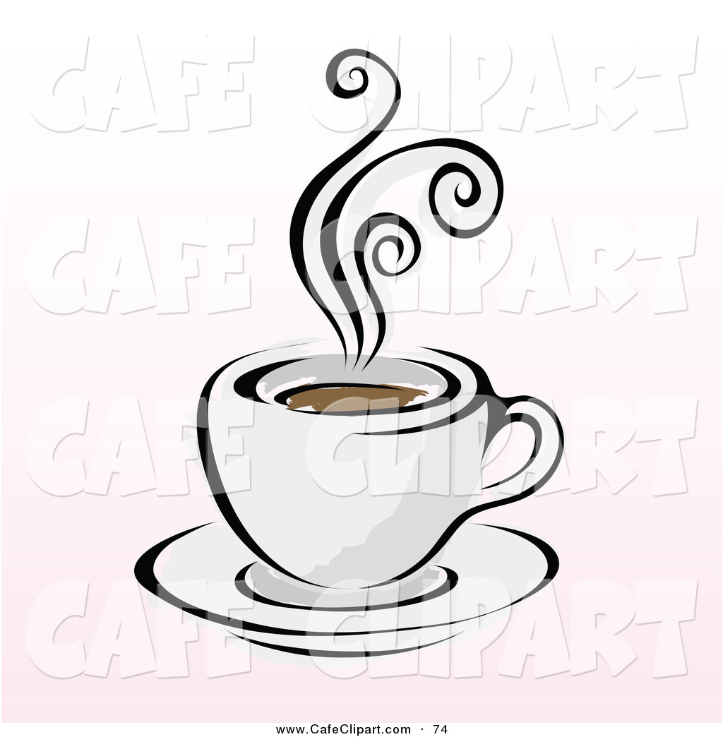 Royalty Free Stock Cafe Designs of Latte Logos.