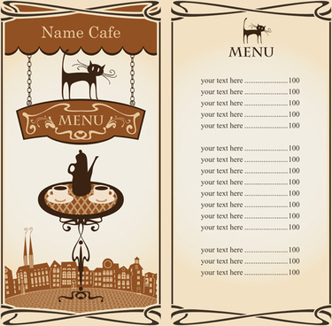 Cafe menu coreldraw free vector download (6,026 Free vector) for.