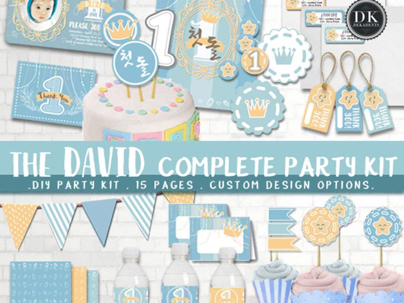 The DAVID: A Baby Blue Prince Theme.
