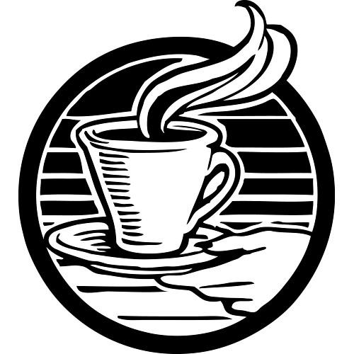Cafe Sign Clip Art.
