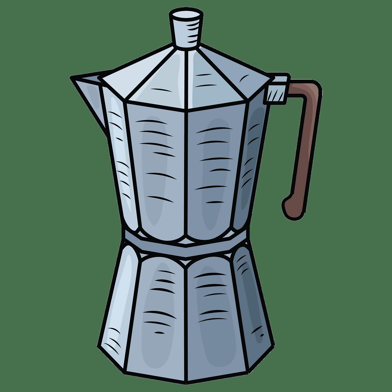 Cafetera clipart. Dibujos animados descargar gratis..