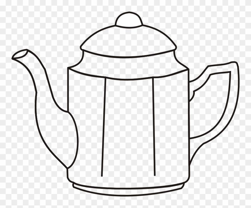 Dibujo De Una Cafetera Clipart (#110137).