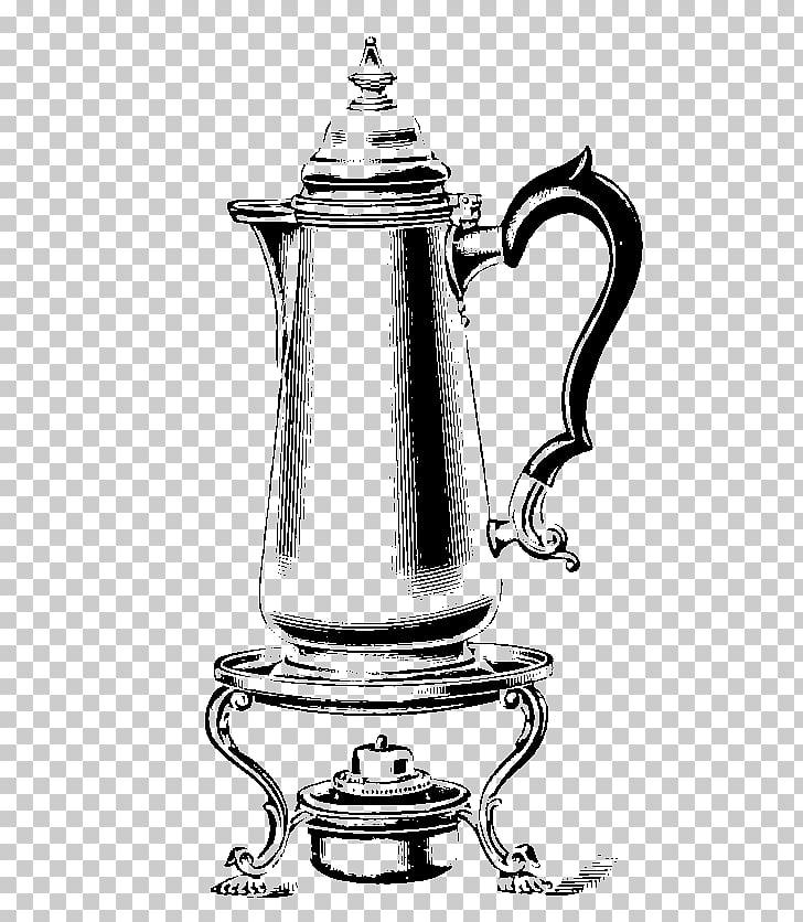 Jug Coffee percolator Kettle Teapot Drawing, cafetera PNG.