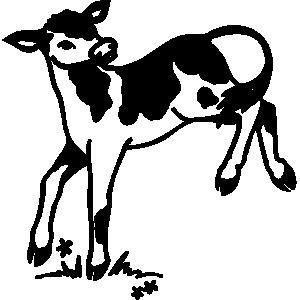 Calf Clipart.