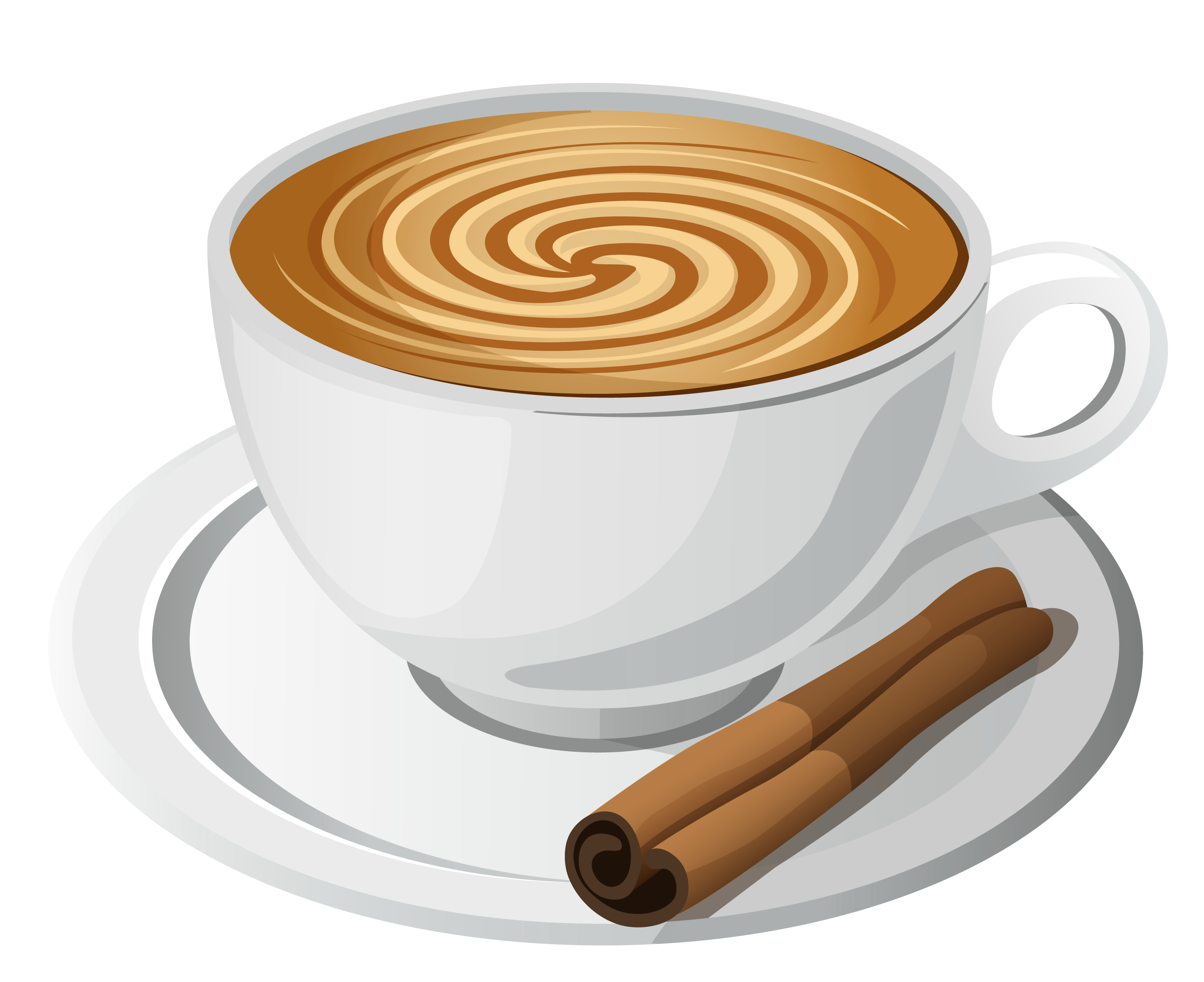 Cup of Coffee PNG Vector Clipart.