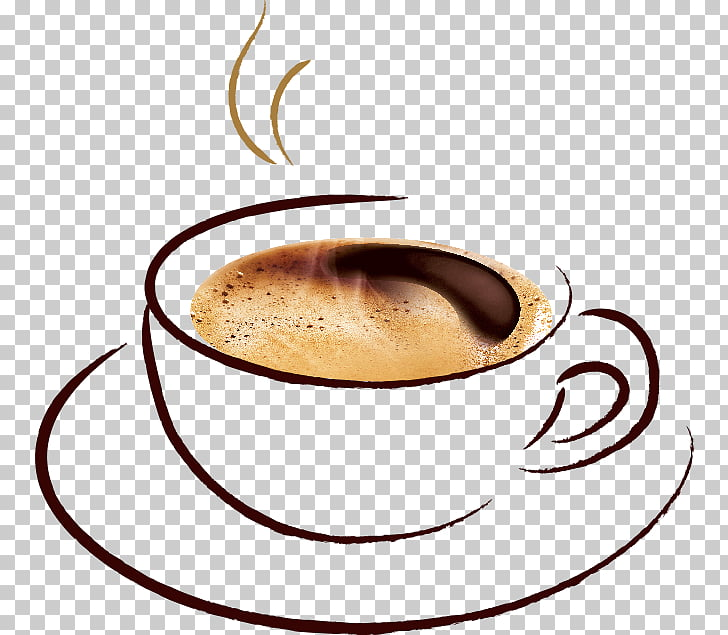 Coffee cup Cappuccino Barleycup Caffeine, Coffee PNG clipart.