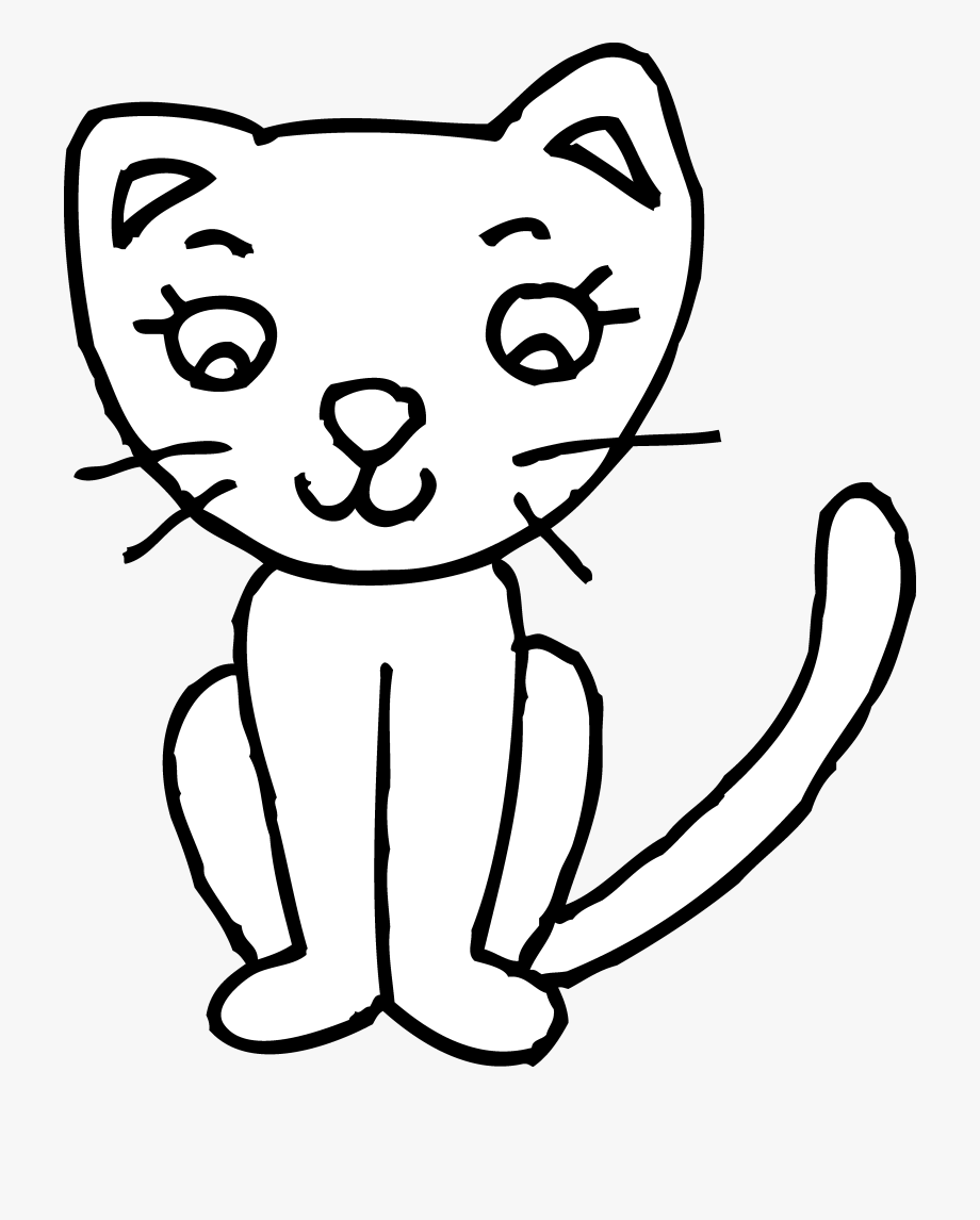 Kitten Playing Clipart.