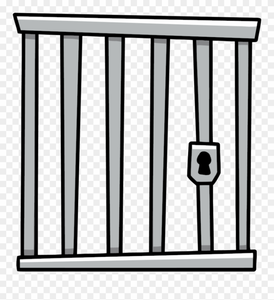 Cartoon Cage Transparent Background Clipart (#12387).