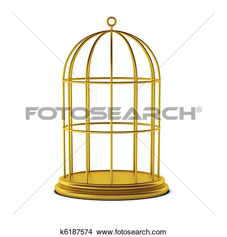 Drawings of 3d Calculator inside golden cage k20575914.