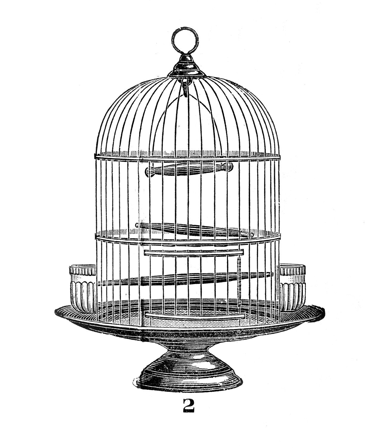 Cage clipart black and white 1 » Clipart Station.