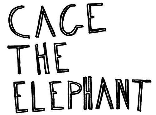 Cage the elephant Logos.