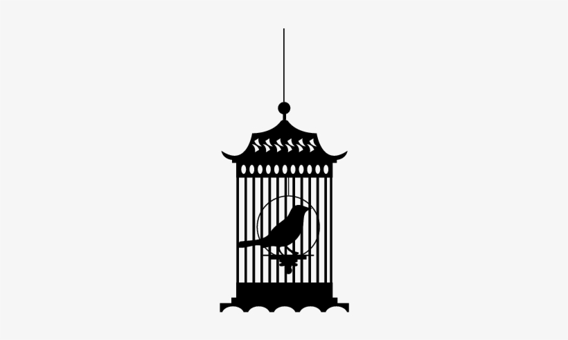 Caged Bird Png Clipart.