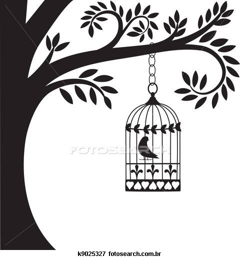 Bird cage Clipart and Stock Illustrations. 334 bird cage vector.