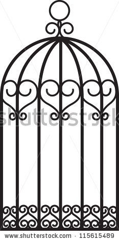 Animal Cage Isolated Stock Photos, Royalty.