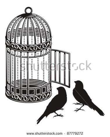 Open Cage Stock Photos, Royalty.