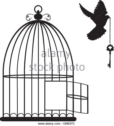 Bird Cage Silhouette Stock Photos & Bird Cage Silhouette Stock.