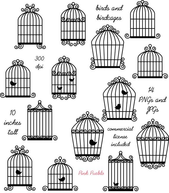 Birdcage Clip Art Clipart, Bird Cage Clip Art Clipart.