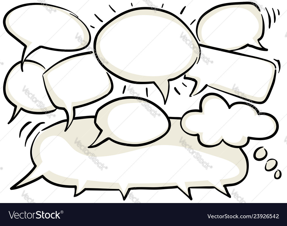 Chat graphic clipart.