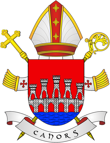 File:Coat of Arms of diocese of Cahors.png.
