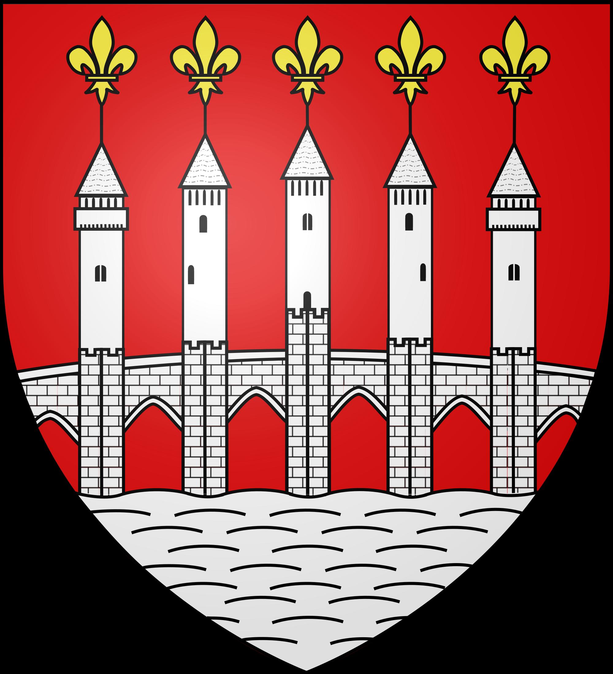File:Blason Ville Cahors fr (Lot).svg.