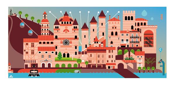 Tourist Postcards.