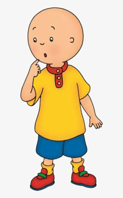 Caillou PNG.