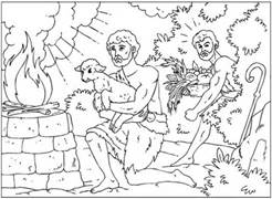 Cain And Abel Clipart.