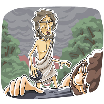 Christian clipArts.net _ Cain murdered Abel.