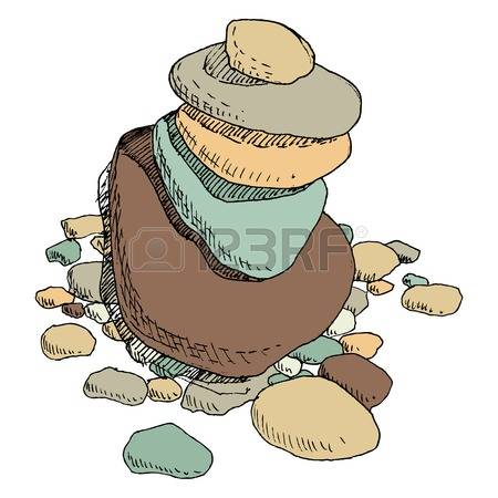 Cairn Stock Vector Illustration And Royalty Free Cairn Clipart.