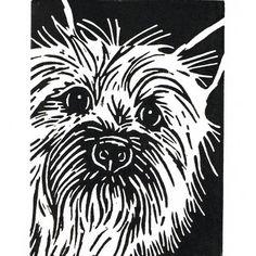 Cairn Terrier, Pet Portrait, DawgArt, Dog Art, Pet Portrait Artist.