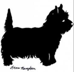 Cairn terrier clipart.