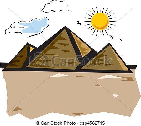 Stock Illustrations of desert vacation.