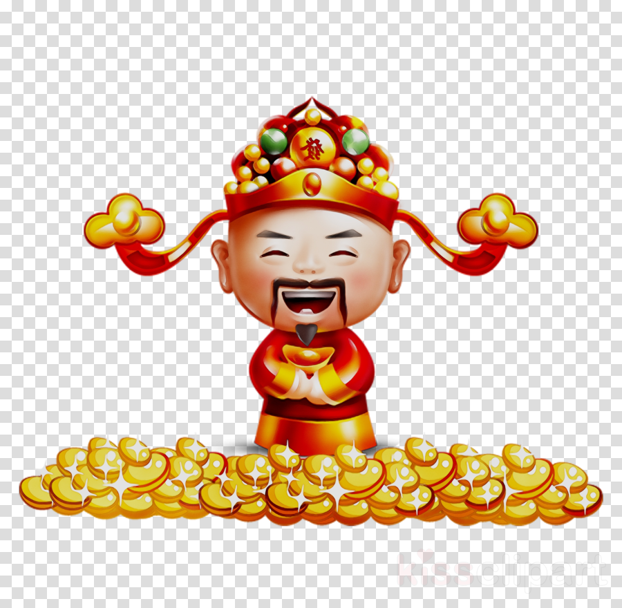 Happy Chinese New Year Cartoon clipart.